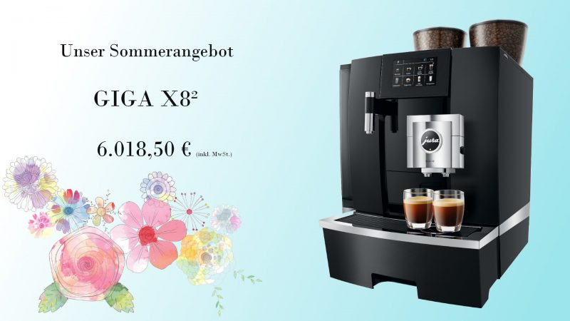 Sommerangebot 2020 GIGA X8²
